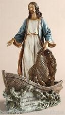"""11.25"""" Jesus Christ the Fisherman Figurine Statue Joseph's Studio # 42111"""