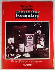 Photographers' Formulary Kits and Chemicals In Any Amount