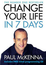 Change Your Life in Seven Days (Book & CD), Paul McKenna | Hardcover Book | Acce