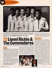Hello, Goodbye Lionel Richie & The Commodores Cutting