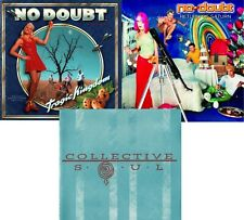 NO DOUBT / COLLECTIVE SOUL: 3-CD Lot * near-LIKE NEW * FREE SHIPPING!!