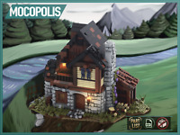 LEGO MOC Custom Medieval House | PDF instructions (NO PARTS)