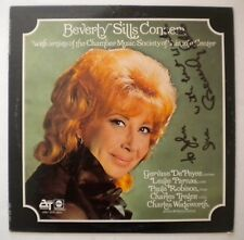 BEVERLY SILLS CONCERT - LP - SIGNED / Autographed - ABC / ATS 20011 - Lincoln