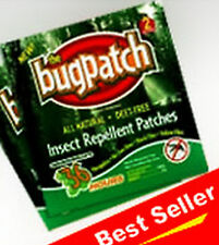 """VIT B1  MOSQUITO/INSECT REPELLENT BUG PATCH*1WK. 6 PATCHES """"DEET FREE"""" 100% NAT."""