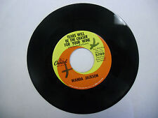 Wanda Jackson Reckless Love Affair/Tears Will Be The Chaser For Your Wine 45 RPM