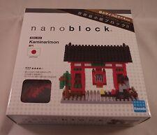 Kawada Nanoblock Kaminarimon New-Showplace in Tokyo block building toy NBH-054