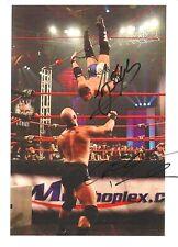 AJ Styles vs Christopher Daniels signed 8x10 w/COA TNA