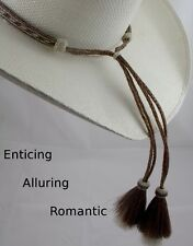Horsehair Hat band #1 seller Amazing LONG TAIL off the hat  horsehair hat band