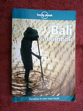 LONELY  PLANET  BOOK   BALI & LOMBOK   PARADISE IN ONE EAST BOOK  8th EDITION