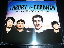 Theory Of A Deadman Make up your mind Australian 3 Track CD Single