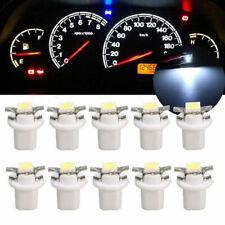 10* 12V T5 B8.5D 5050 1SMD Car LED Dashboard Dash Gauge Instrument Light Bulbs