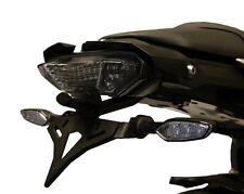 Yamaha MT-10 2016+ Cola ordenado CNC Negro Por Evotech Rendimiento