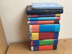 Rowling , J K :  Harry Potter  book set x 9 (original first edition set  )