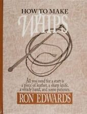 NEW How to Make Whips (Bushcraft) by Ron Edwards