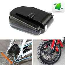 Motorcycle Scooter Alarm Disk Security Lock Anti-Theif Anti Steal Loud Alertor