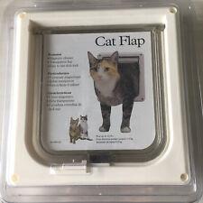 New listing Pet PetSafe 2-Way Locking Magnetic Transparent Cat Door - Made in Usa