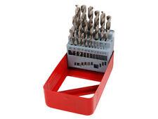 25 Piece HSS drill bits set - for drilling steels cast iron aluminium plastics