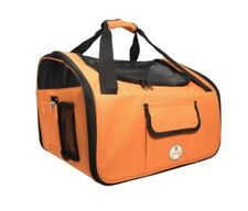 Pet life Dog & Cat Car Seat & Carrier Bag-Orange