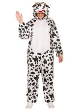 Adults Deluxe Cow Costume Farm Animal Book Week Fancy Dress Ladies Mens Nativity