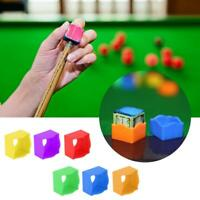 24PCS Portable Billiard Pool Cue Chalk Holder Protective Cover Case Snooker