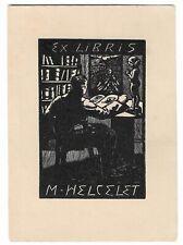 FRANTISEK HLAVICA: Exlibris für M. Helcelet