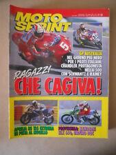 MOTOSPRINT n°13 1993 APRILIA RS 125 IN PISTA  [MS9]
