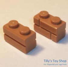 AKA: Tan USED LEGO Part No 2412.1 in Brick Yellow LEGO Bau- & Konstruktionsspielzeug