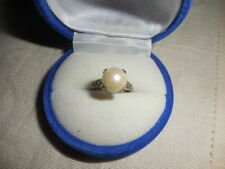 Lab-Created/Cultured Fine Pearl Rings