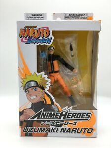 """Bandai Naruto Shippuden Anime Heroes Series Uzumaki Naruto Action Figure 6"""""""