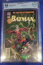 Batman 531 CBCS 9.8 DC 1996 GLOW IN THE DARK cover White pgs Deadman TV not cgc
