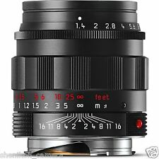 100% New Leica SUMMILUX-M 50mm F1.4 f/1.4 ASPH. 6-Bit Black Chrome M 240 11688