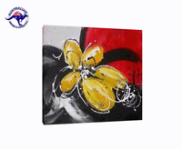 READY TO HANG WALL ART MODERN DECOR HAND PAINTED OIL PAINTING ON CANVAS, FRAMED