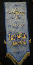Disneyland Prop Sign 2007 Park Displayed Disney Gallery 20th Anniversary Banner