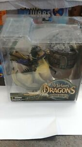 """McFarlanes """"Dragons"""" The Eternal Clan Dragon Quest For The Lost King Carded"""