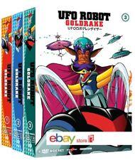 UFO ROBOT GOLDRAKE COLLEZIONE 3 BOX (19 DVD) collector's Edition Yamato Video