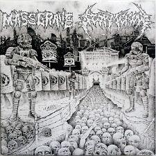 MassGrave / Stormcrow (Split) CD / Like New (2008) Grindcore Punk Thrash Metal