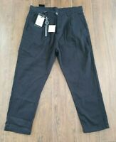 ZARA Chino Men's Pants 6917/300, Size 31 x 25 , Relaxed Fit, Black