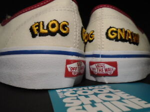 2016 VANS AUTHENTIC CAMP FLOG GNAW CFG GOLF WANG OFF WHITE YELLOW RED BLUE 8.5