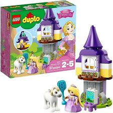EUC Lego DUPLO 10878 Disney Princess Rapunzel's Tower with Maximus 100% complete