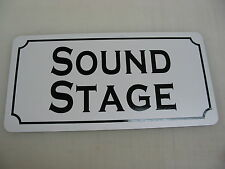 SOUND STAGE Metal Sign 4 Community Play House Theater Drama Class