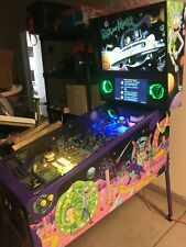 Rick and Morty Pinball machine by Spooky Pinball - Local pickup only