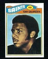 NMT 1977 Topps #257 Tony Galbreath RC.
