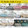 1/2/3/4 Seater Sofa Cover Slipcover Cotton Blend Soft Settee Couch Protector