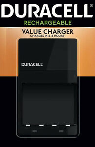 Duracell - Ion Speed 4000 Battery Charger for 4 AA and or 4 AAA Batteries