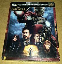 New Iron Man 2 4K Ultra HD + Blu-ray/Digital Steelbook™ Bestbuy Exclusive