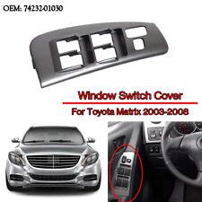 Left Side Window Door Switch Bezel Panel Fit Toyota Matrix Vibe  Pontiac 03-08