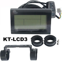 KT Lcd3 Lcd Display for Electric Bike 36V 48V 60V 72V Intelligent LCD Panel
