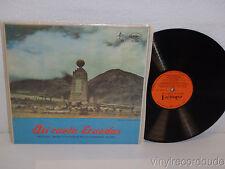 HERMANOS CASTRO Y SUS ARPAS Asi canta Ecuador LP Discos Victoria 18002 RARE