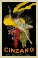 Cinzano, 1920 by Leonetto Cappiello Art Print Vintage Wine Bar Poster 23.5x31.5
