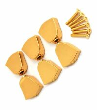 TK-7722-002 Set of 6 Grover Gold Keystone Buttons For Rotomatic Series Tuners